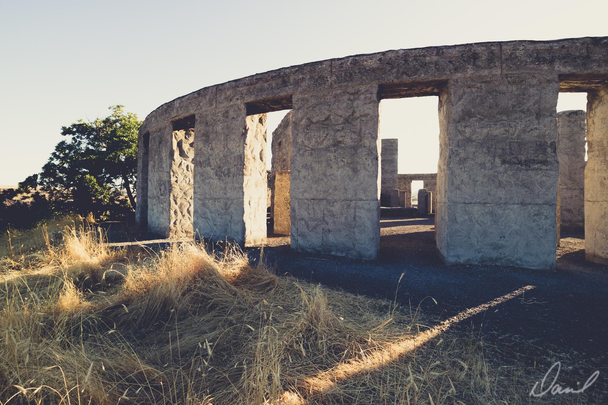 Stonehenge at sunset