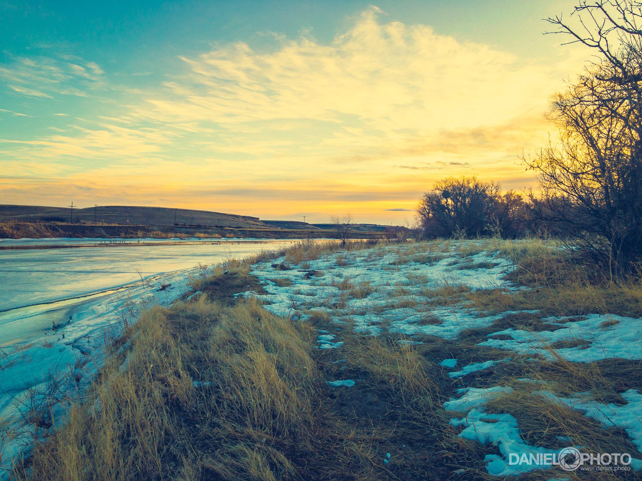 Sunrise Over the Missouri