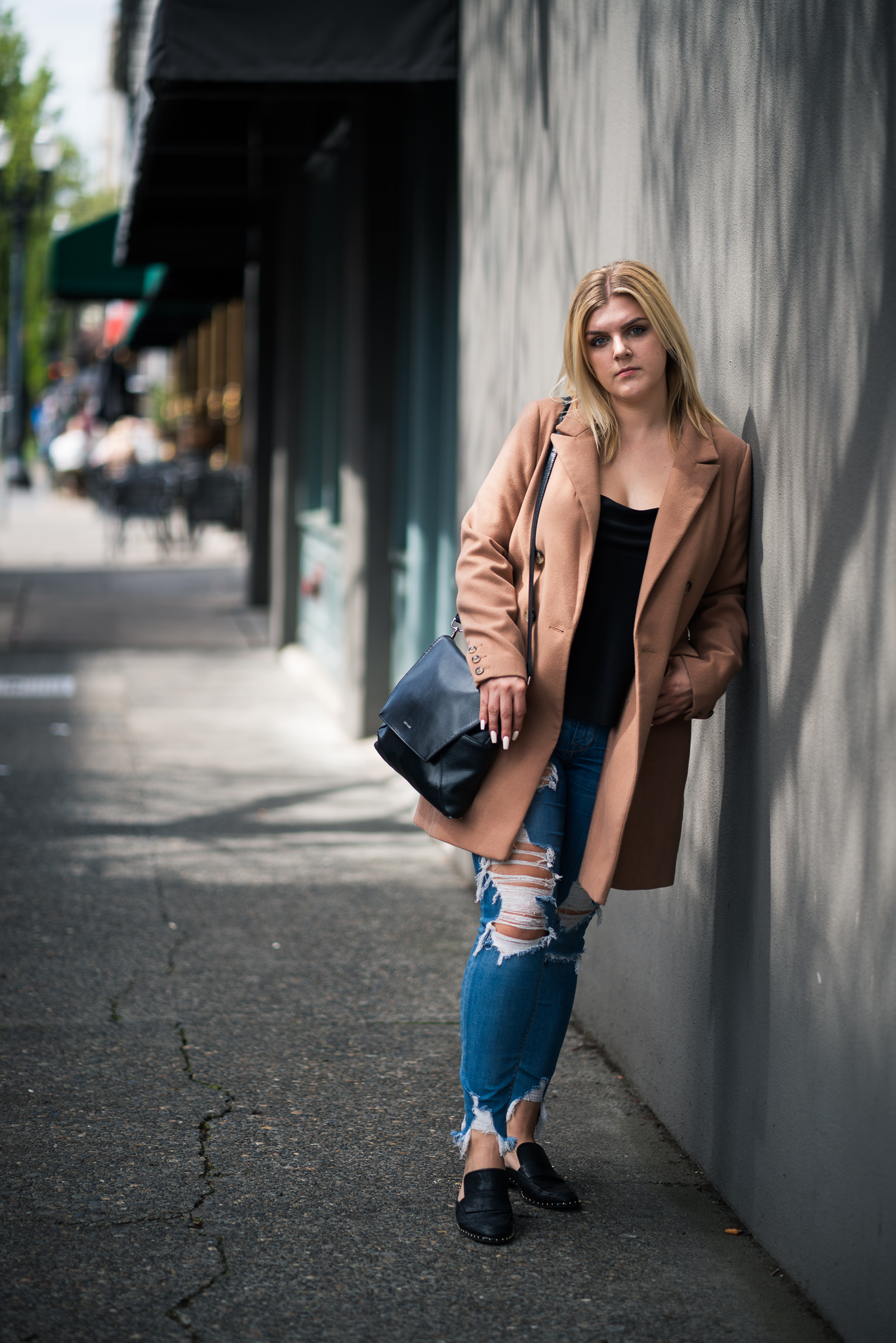 Quick lunch shoot in downtown Portland with Ashlee.