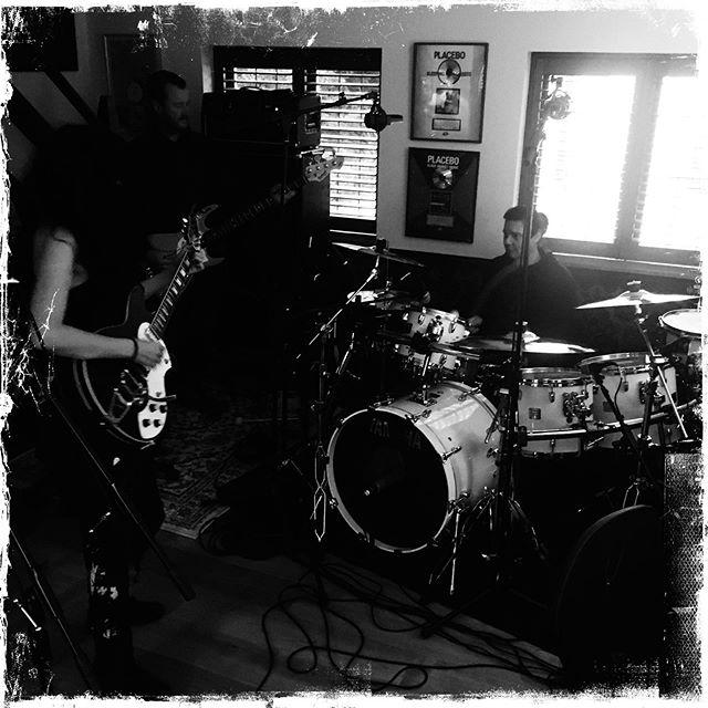 ... just got home from 2 inspiring days recording with Steven Hewitt Evi Vine Steven Hill Schecter Guitars thank you Michael Ciravolo for my beautiful guitar & bass #stevehewitt #stevehewittfan #doom #yamahadrums #yamahadrumsofficial #ethereal #newmusic #blacklightwhitedark #schecterguitars