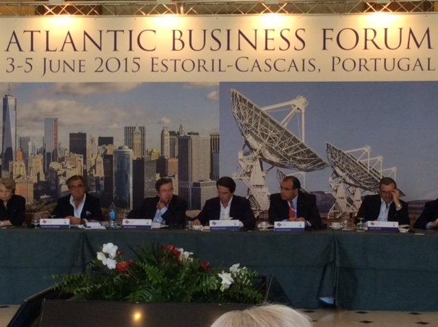 Atlantic Business Forum with Dr. Juan José Daboub, second from right