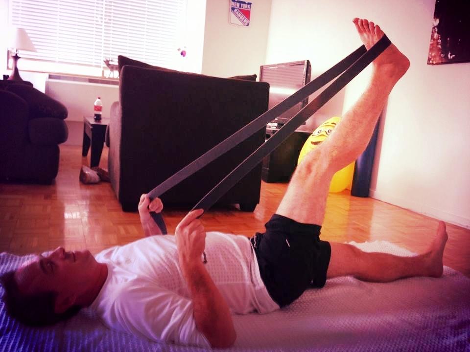 Reclining Big Toe Pose