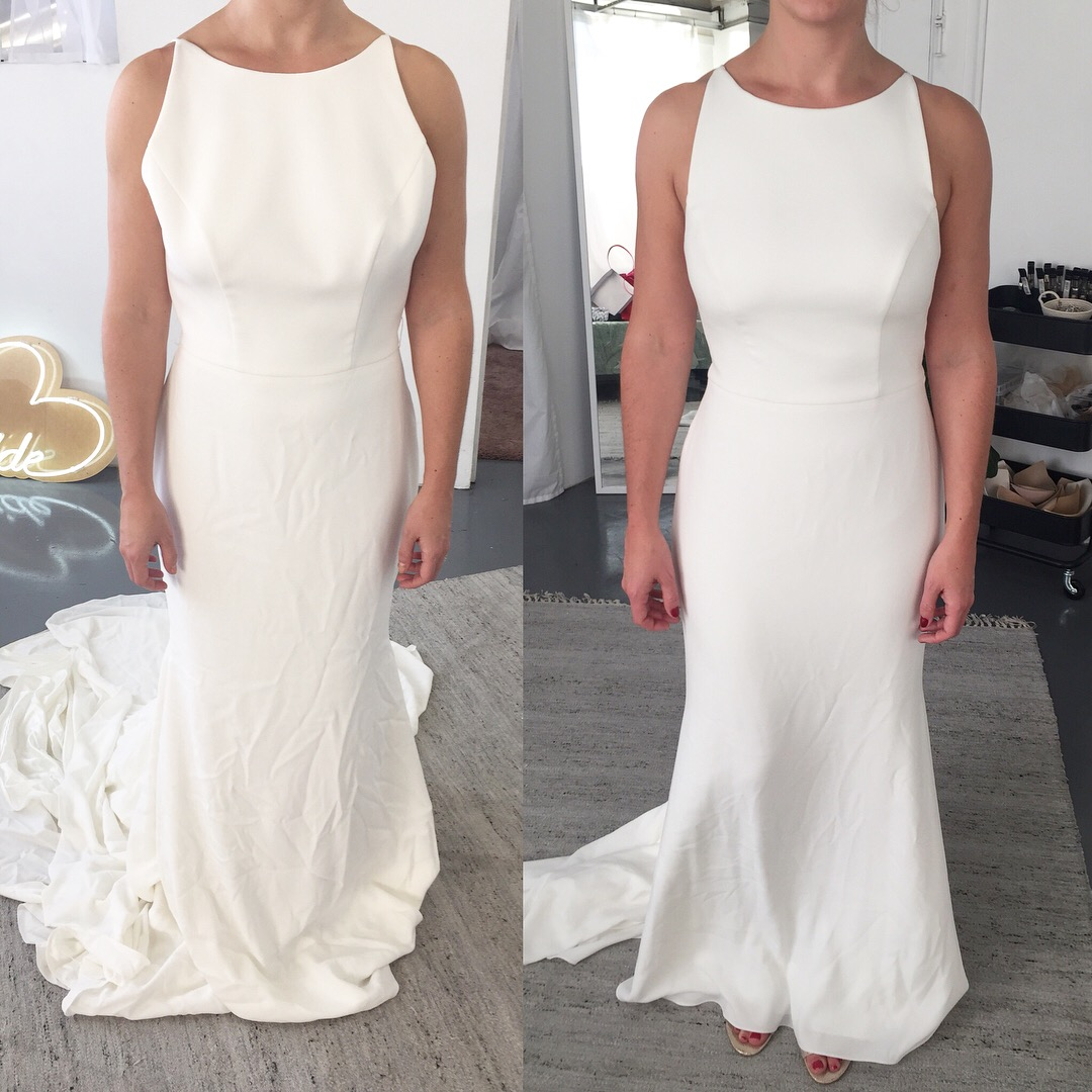 Wedding Gown Alteration: THE WILLIAMSBURG SEAMSTER