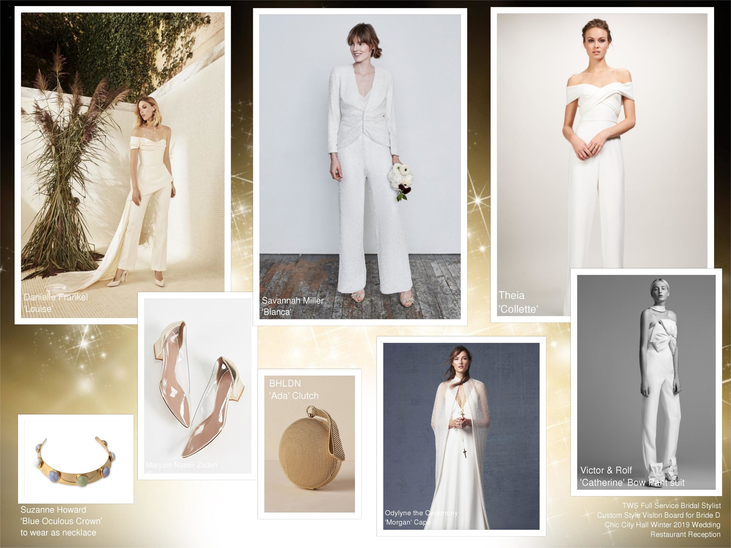 Sample Personal Bridal Style Vision Board