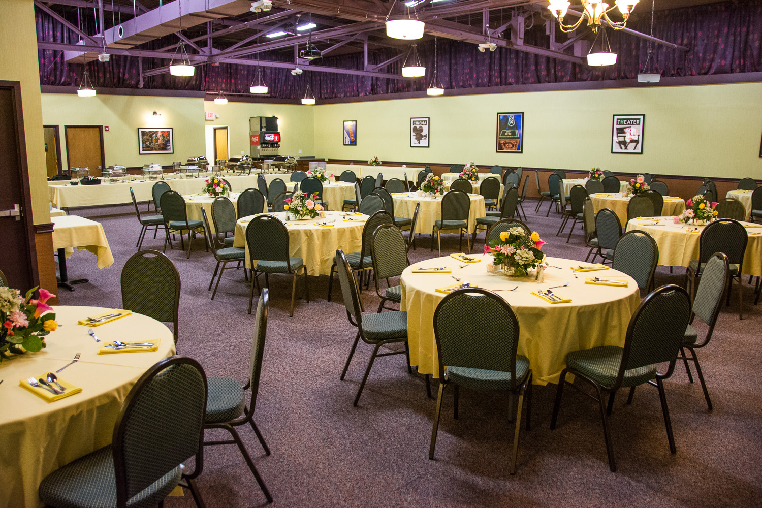 """This is our """"Theater Room"""", where we provide our groups of 20 and more excellent buffet meals by reservation."""