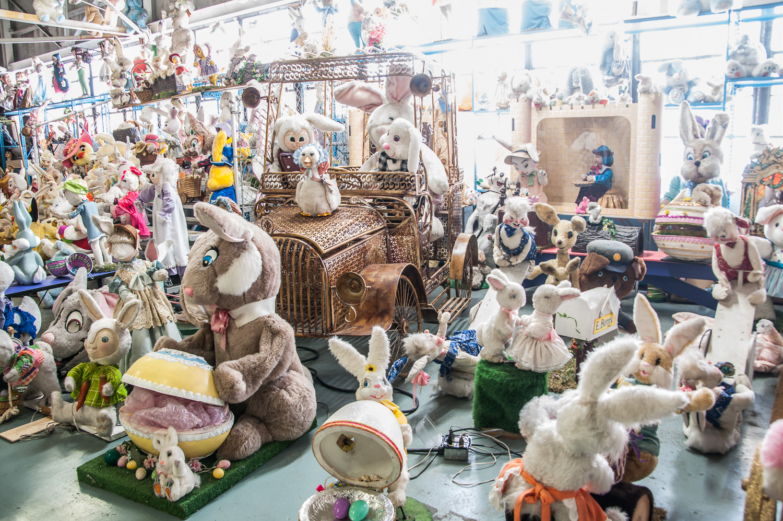 The American Treasure Tour has just a few rabbits...