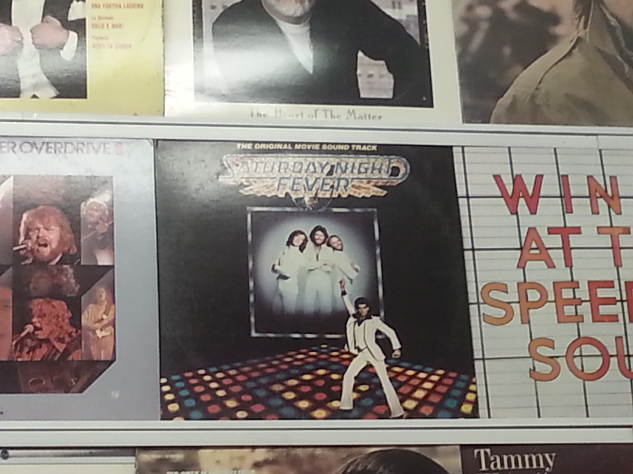 Of course we have the Saturday Night Fever soundtrack! Think you can find it among our thousands of records?