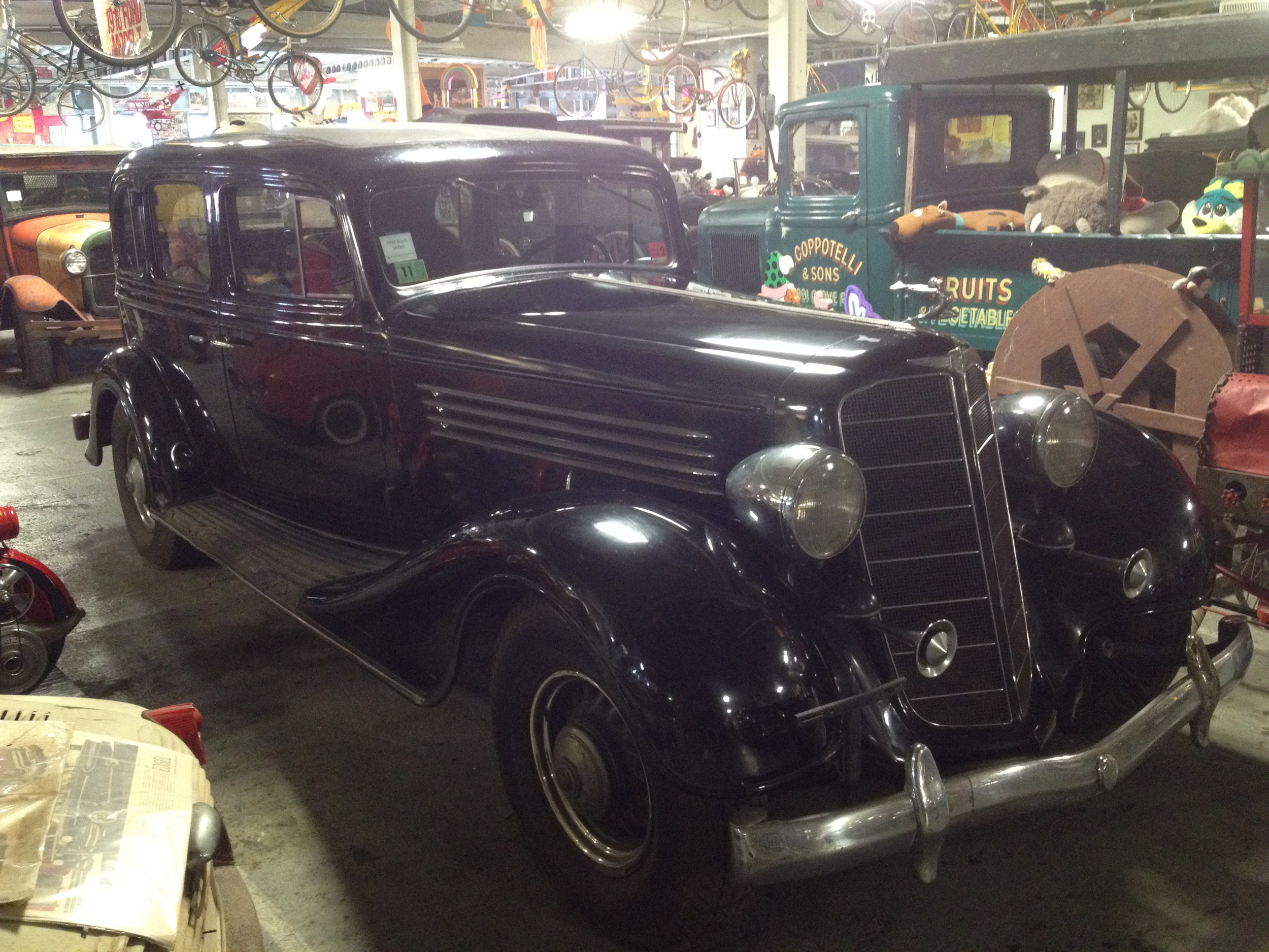 Our beautiful 1935 Buick Sedan