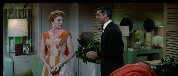 Deborah Kerr--in the best dress ever--and Cary Grant in  An Affair to Remember .