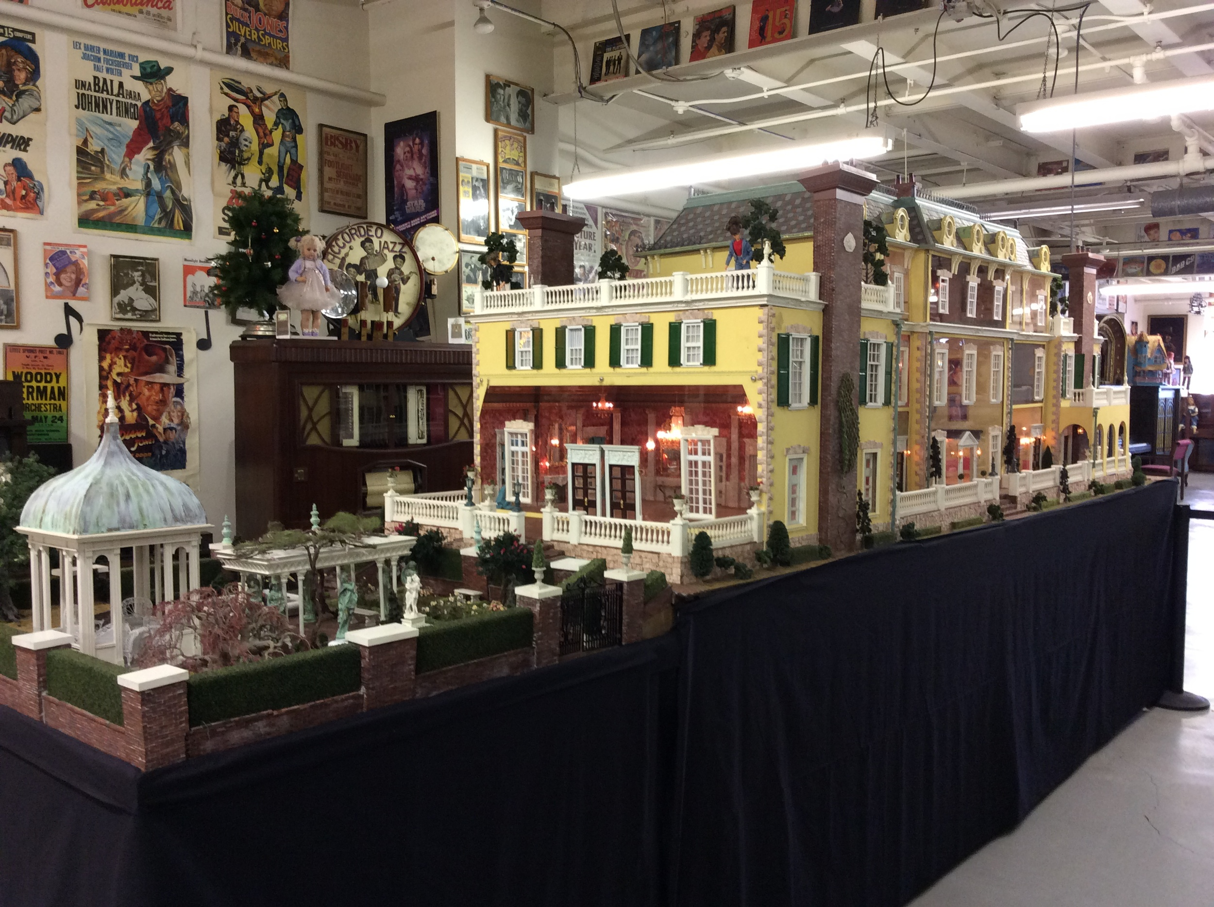 Our 18 foot long doll house just installed in the music room. What a gorgeous beauty it is and you can learn more about this new addition when you come to visit us.  Speaking of visits ... it is time to visit today's birthday highlight: On this date in 1894, this poet and author was born. Who is he?