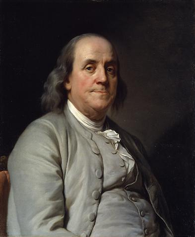 Benjamin Franklin born in Boston, Massachusetts 1706 and died in Philadelphia PA 1790.    Private Benjamin came out in b. 1980.