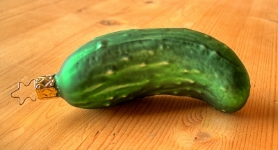 A Christmas Pickle.