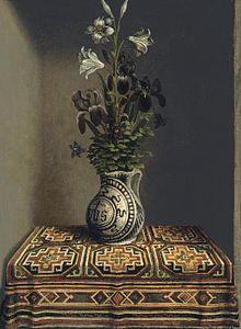 Hans Helming  Vase of Flowers  (1480)