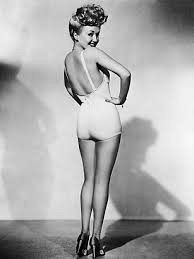 Betty Grable's famous pin-up