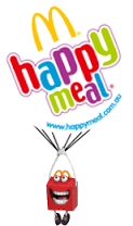 Happy, the Happy Meal mascot, was introduced in 2014