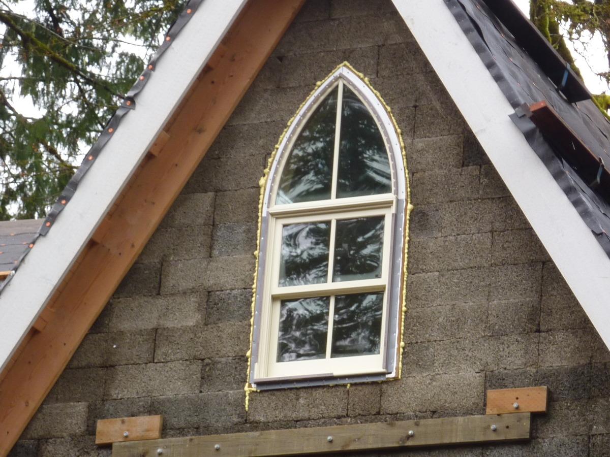 Church Window Up Close