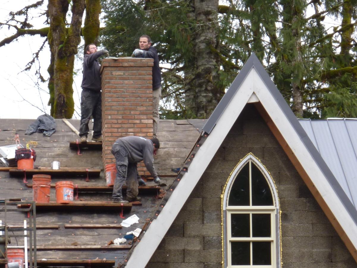 Finishing the Chimney