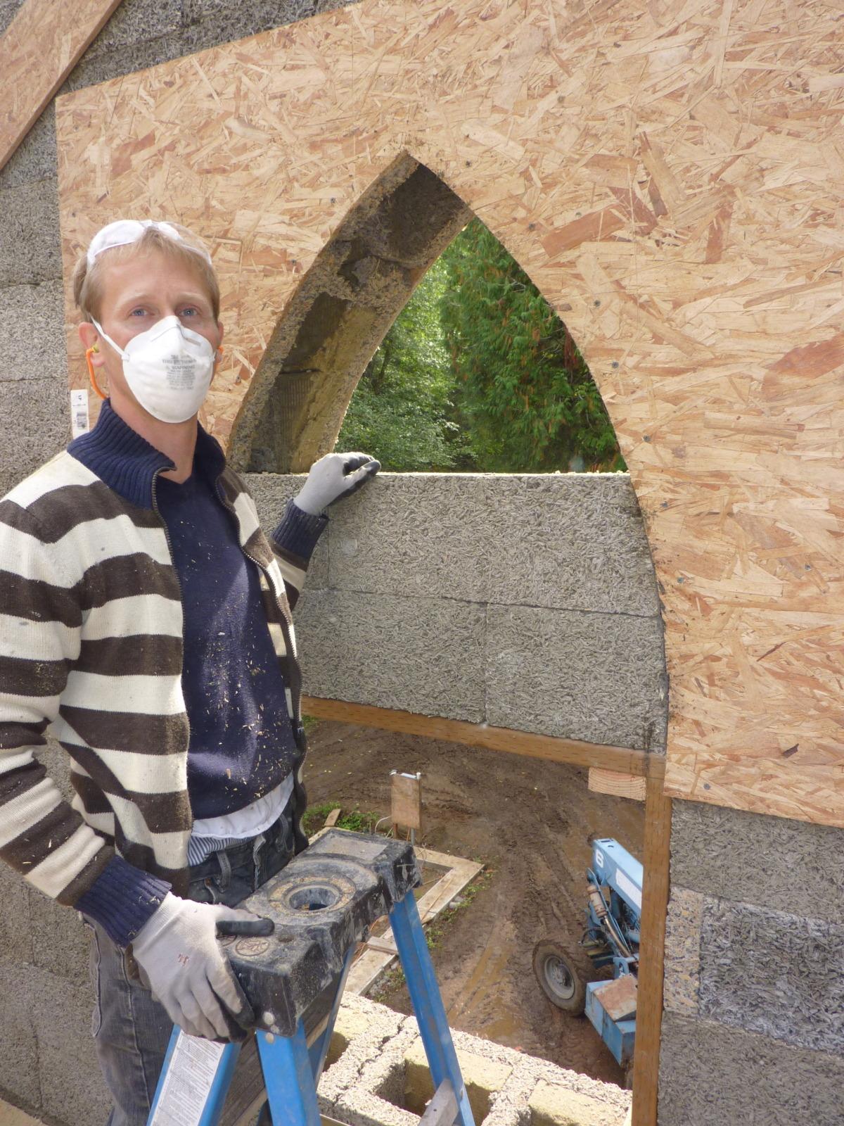 Church Window Cut Out