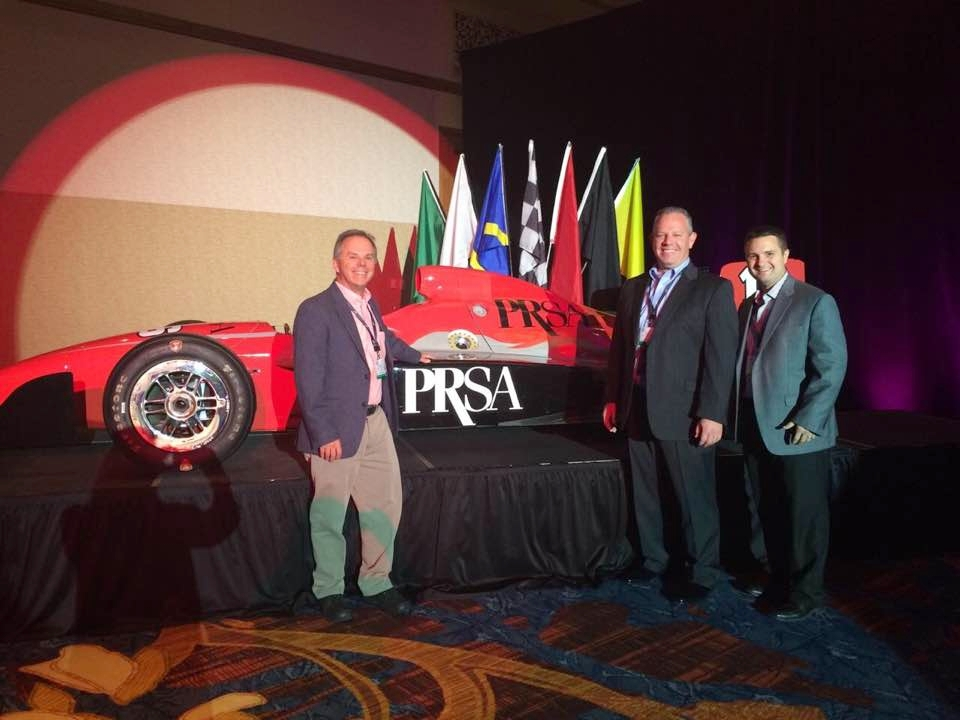 Mike Boehmer, APR, Chris Kemper, APR, and Jonathan Kissell, APR -- all Cincinnati PRSA members at the International Conference.