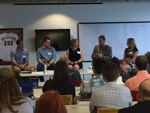 Earlier this summer, Scripps hosted a panel on podcasting.