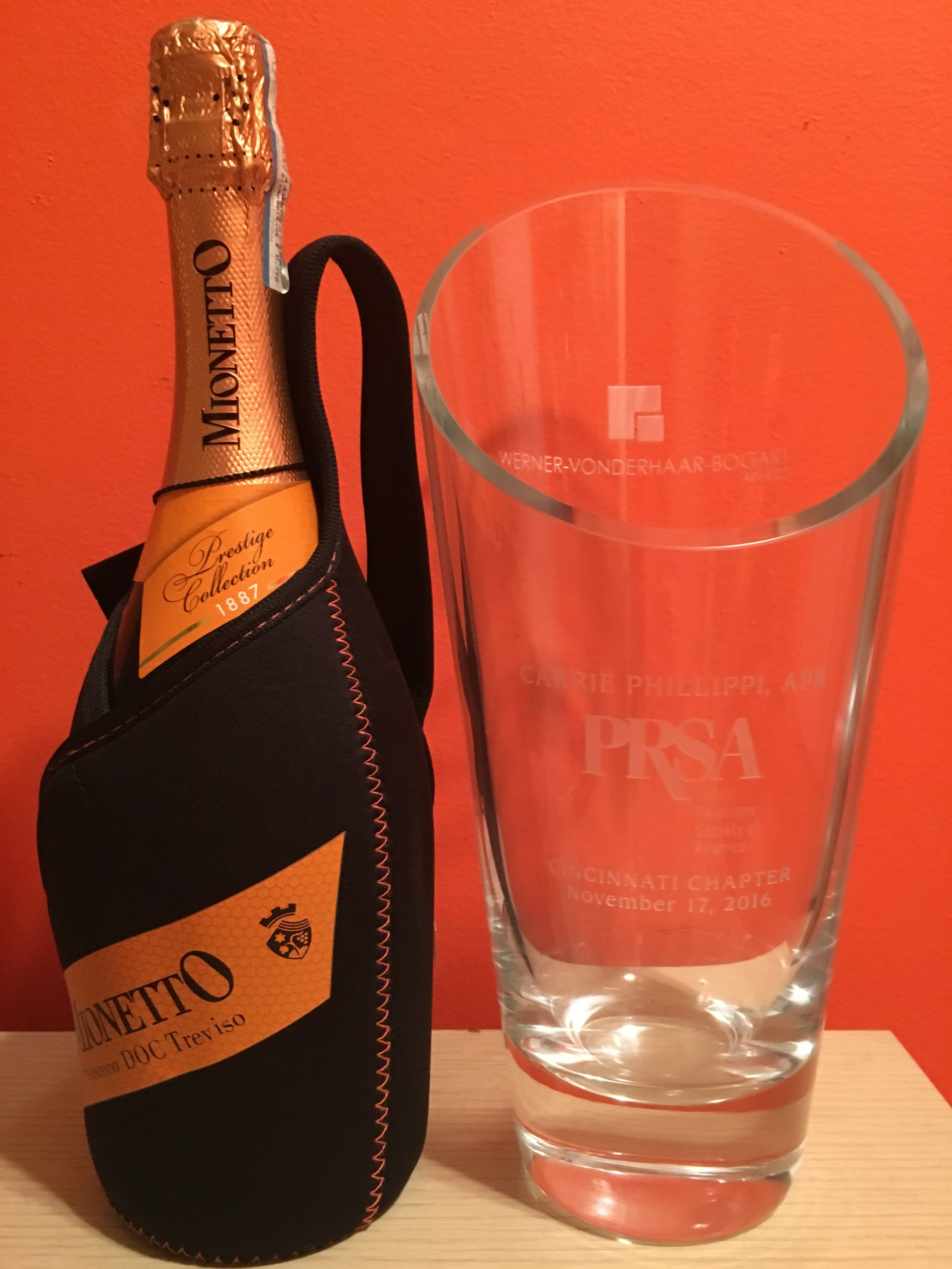 Nominate an outstanding local PR pro for the Werner Vonderhaar Bogart Award. Champagne not included.