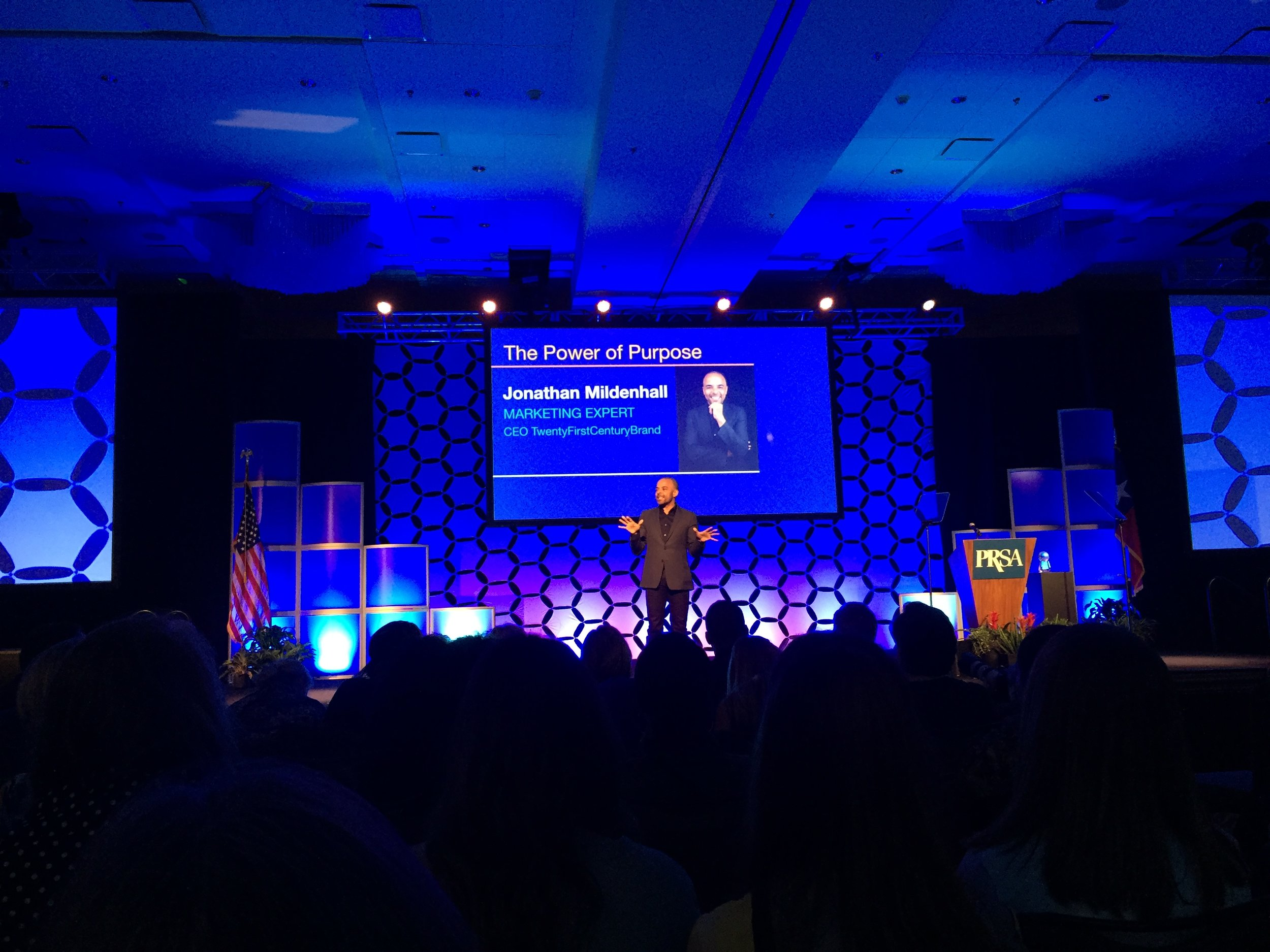 2018 PRSA International Conference keynote