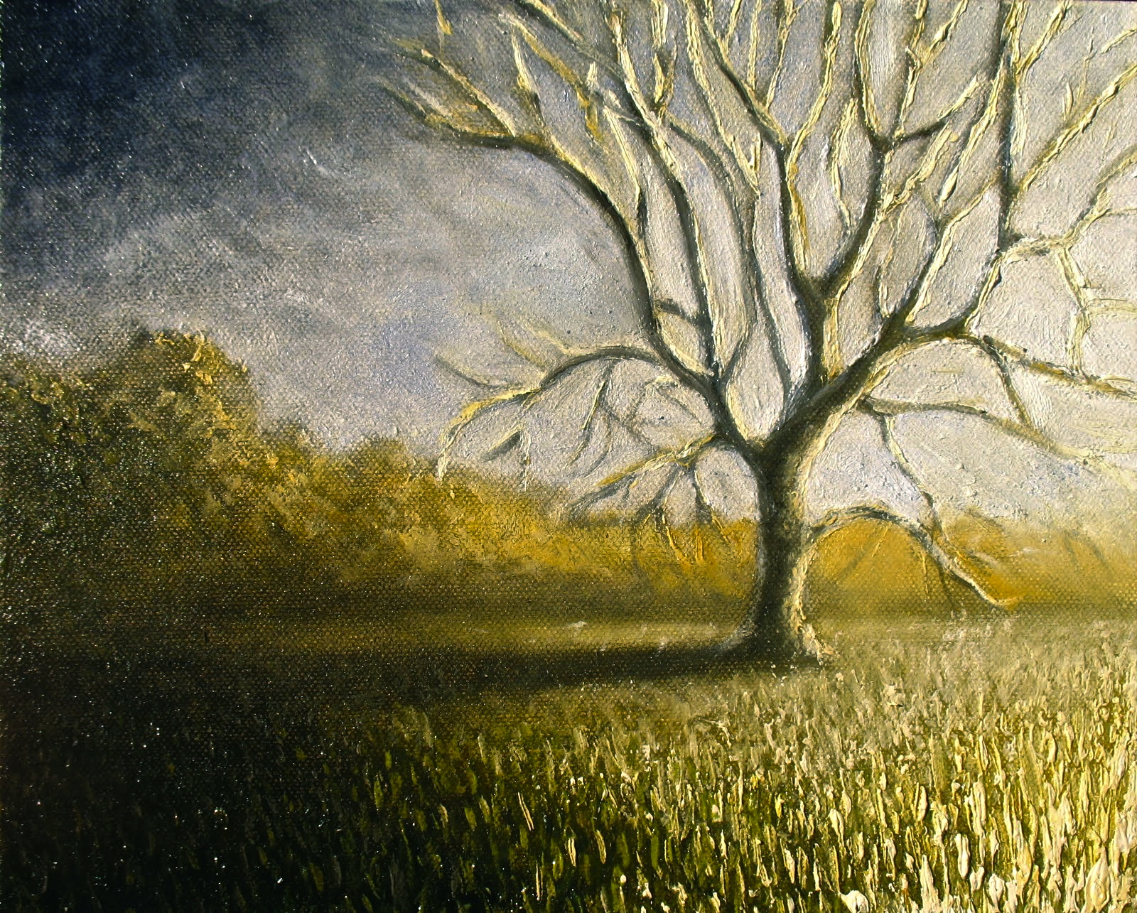 The Waning Tree (Sold)