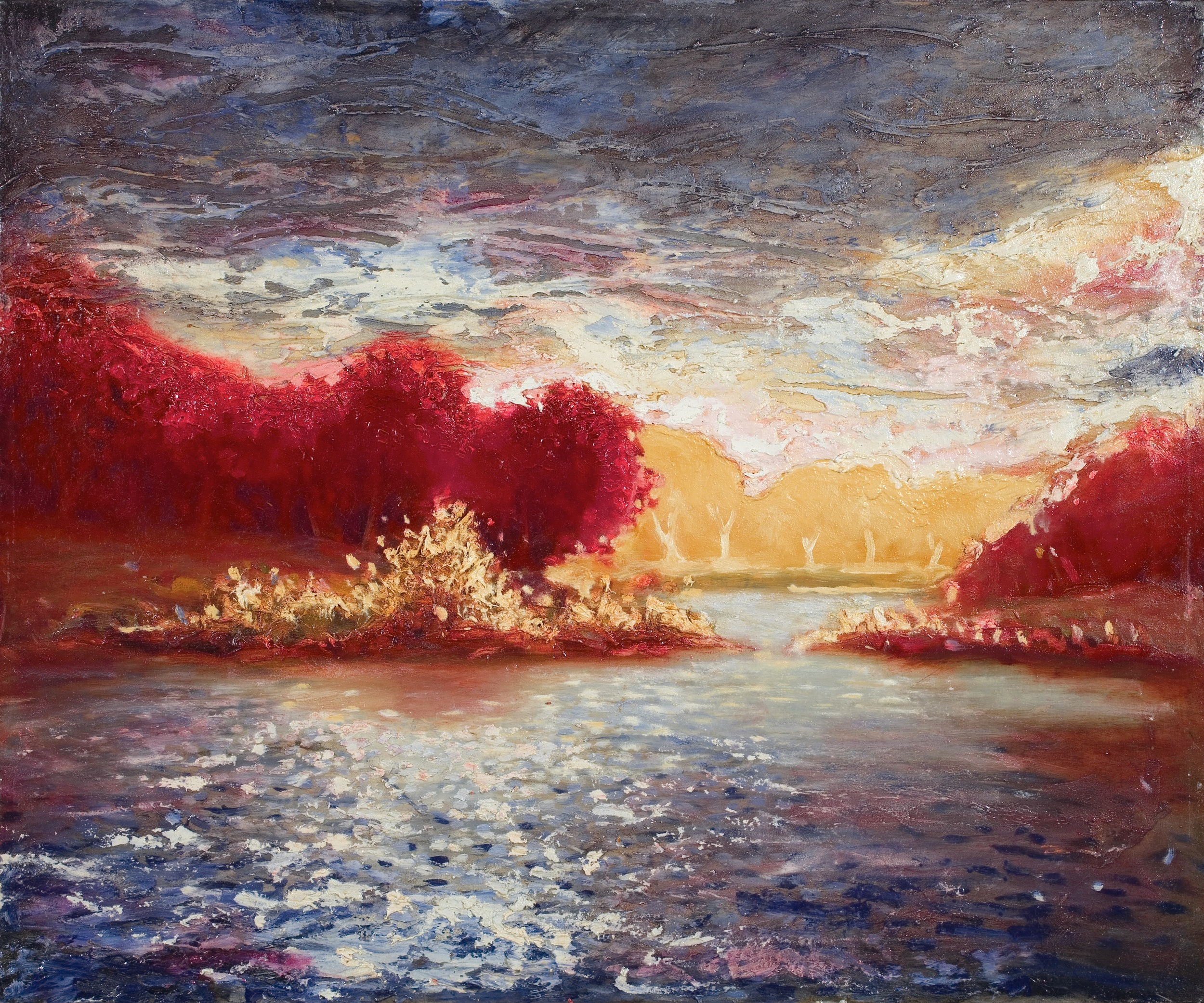 Autumnal Lake (Sold)
