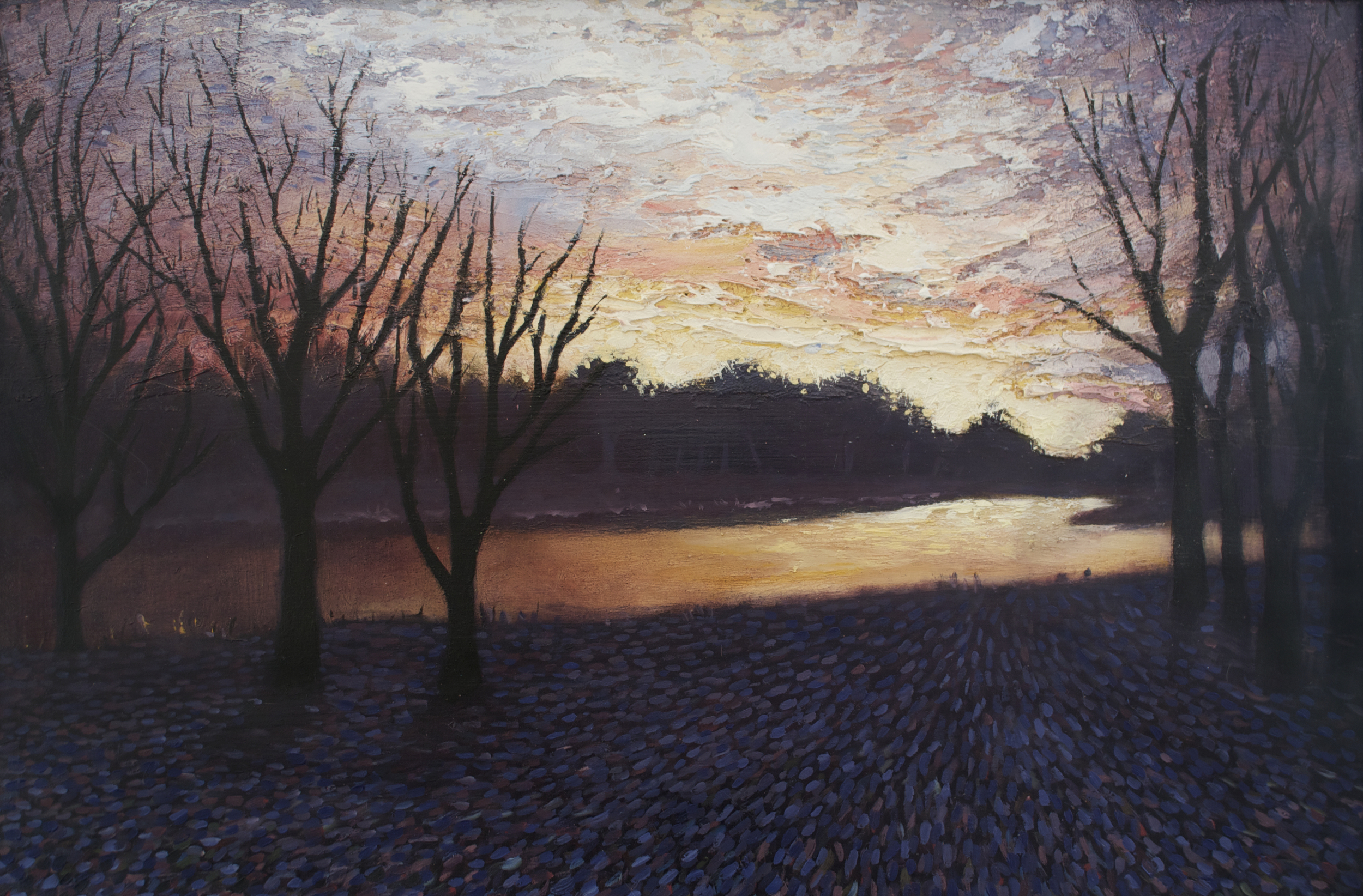 Winter's Light at Dusk (Available)