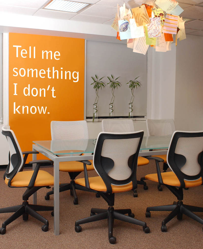 Conference Room with Agency Mantra