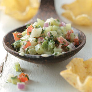 Photo and recipe curtesy of   tasteofhome.com