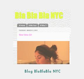 Blog BlaBlaBla NYC