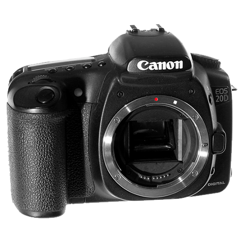 Canon 20D, Converted to Infrared