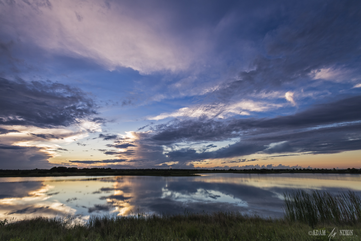 Viera Wetlands at Sunset