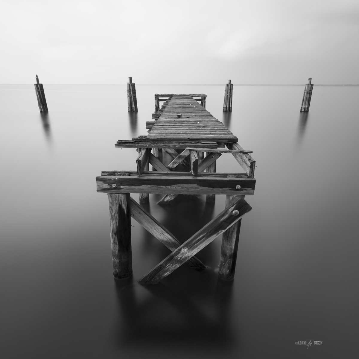 Lonely Dock Canon 5DIII, 16-35mm, 62sec @f/11, LEE Big Stopper