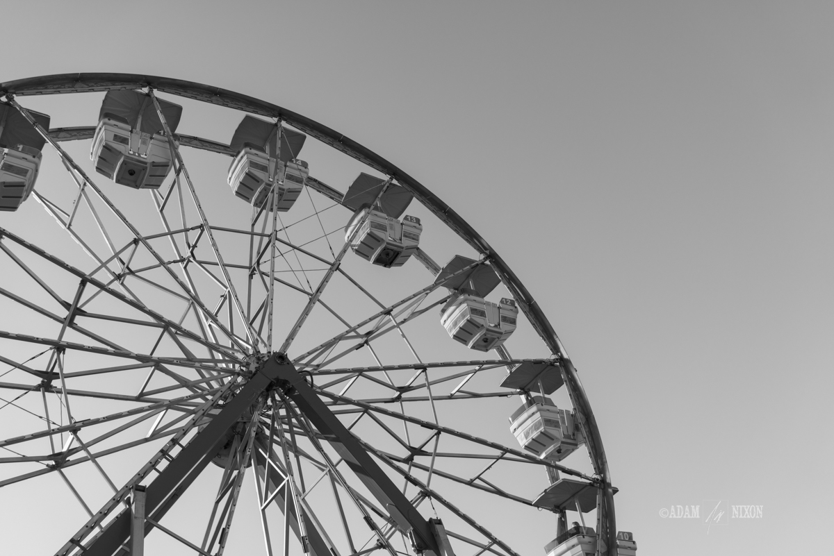 Ferris wheel at a carnival