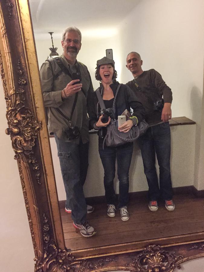 Group selfie, Suzanne, Gabi & Adam