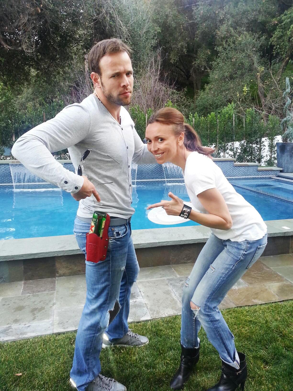 Ernesto Arguello and Giuliana Rancic