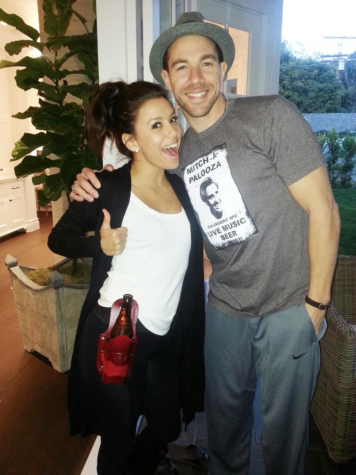 Eva Longoria and Tim Lopez