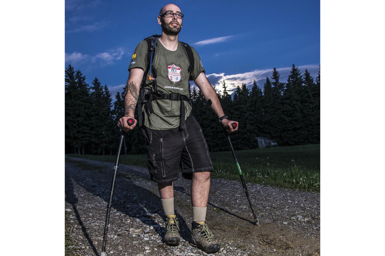24 hour hiking
