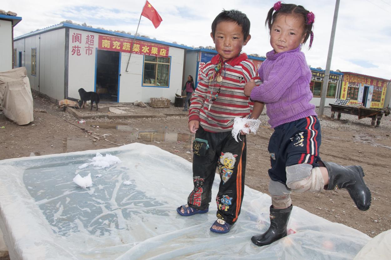 Tibetan table-top kids