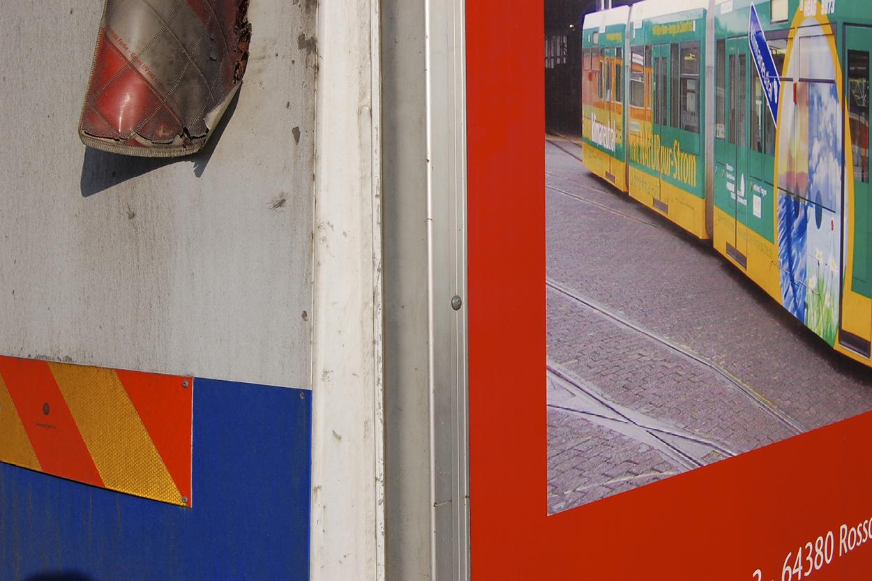 Side of tram