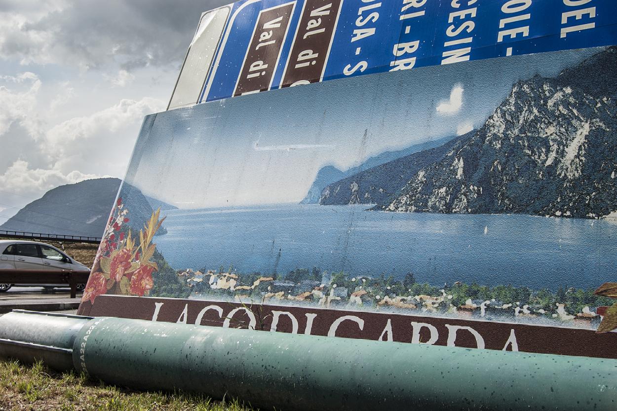 Billboard on the ground