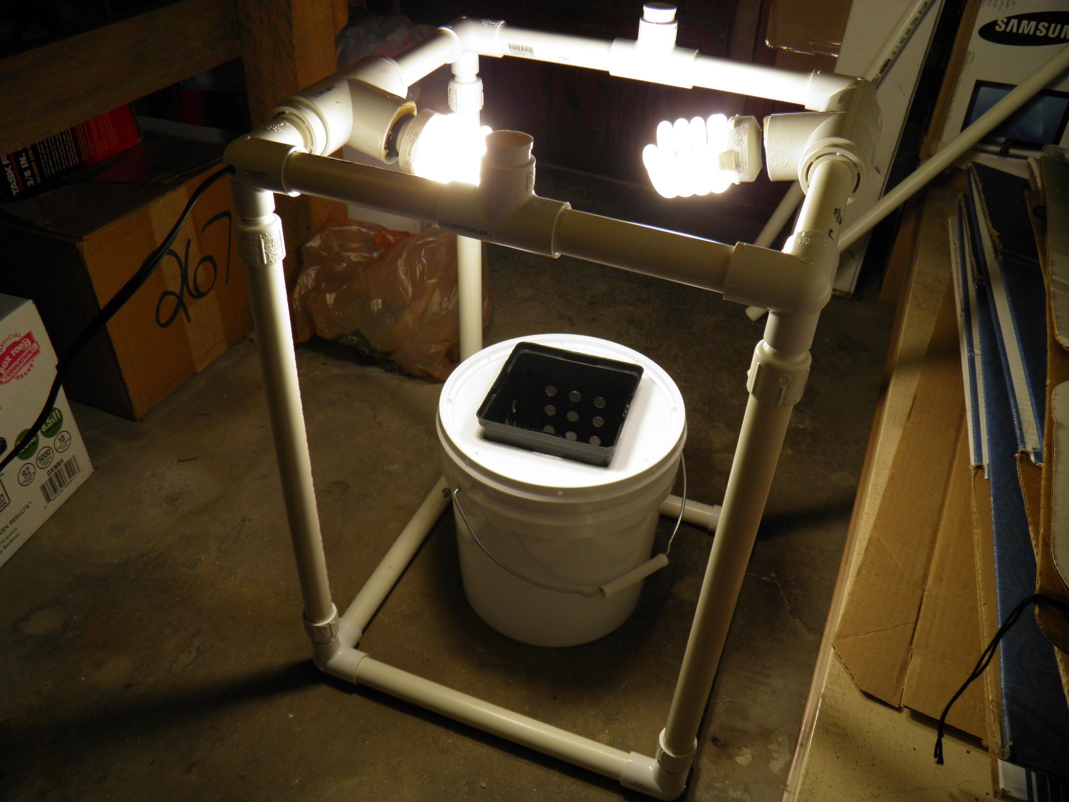 Final Setup with Lights Tested