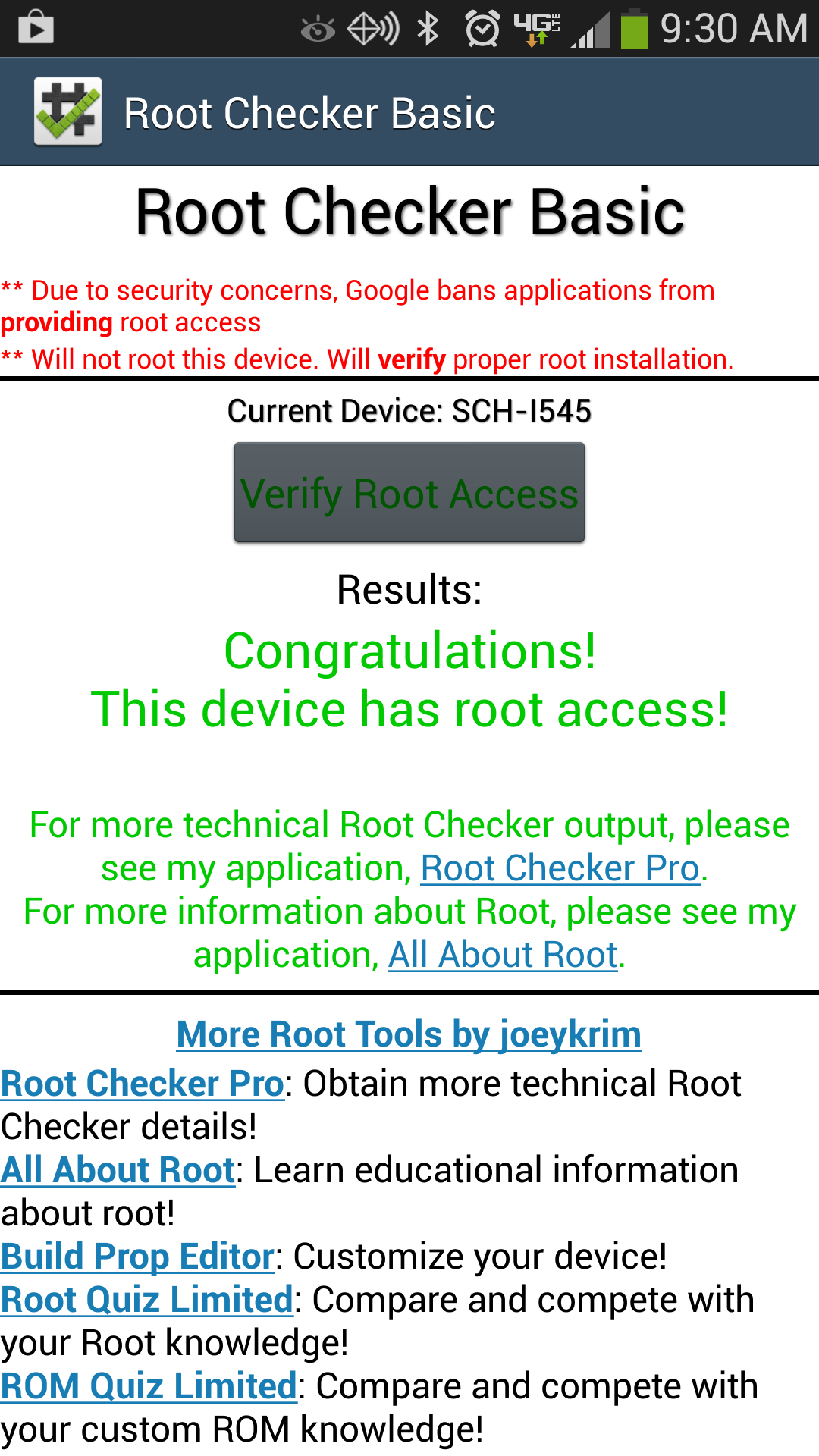 Root Access!