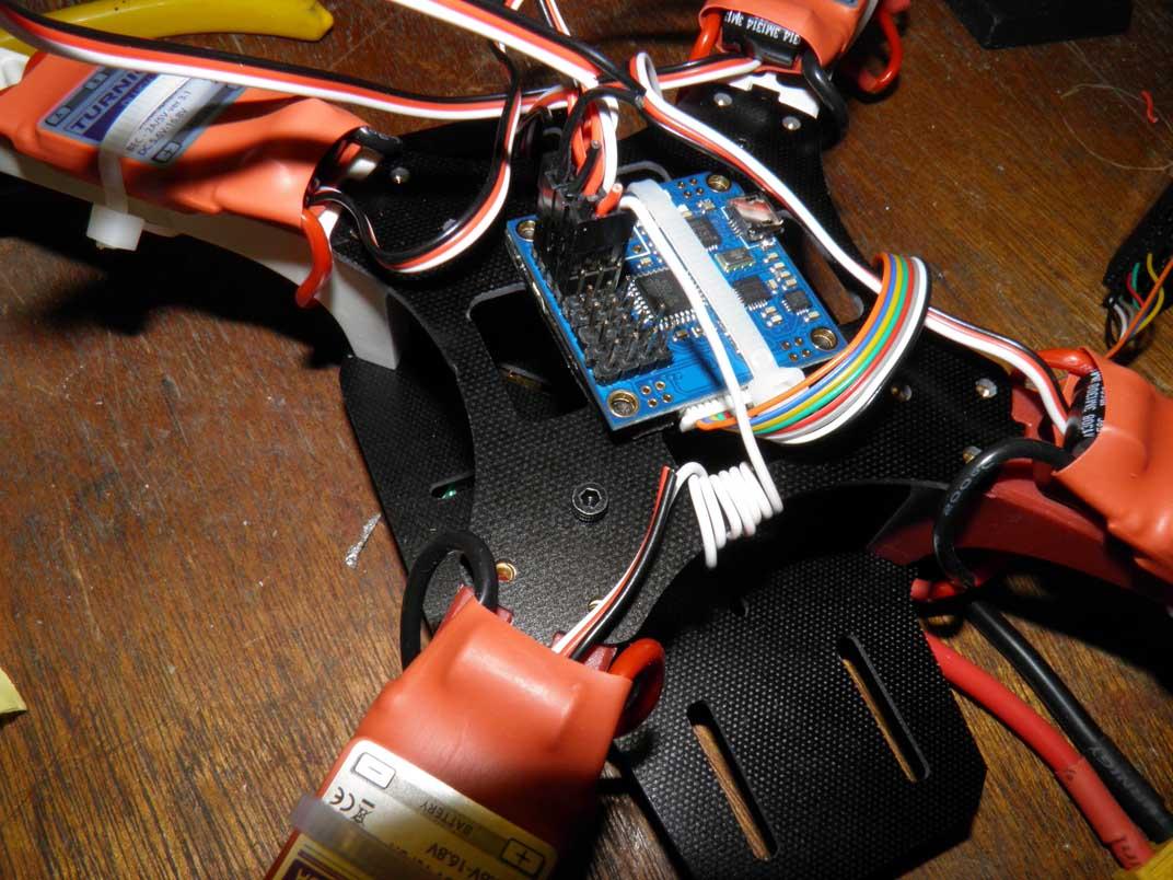Wires Wound Around Frame
