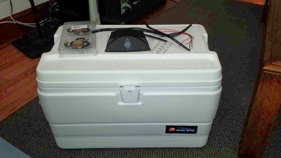 Speakers, Amp, Wire, Velcro, Wire Mesh