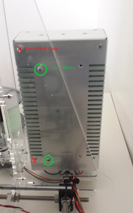 Proper Power Supply Mounting Holes