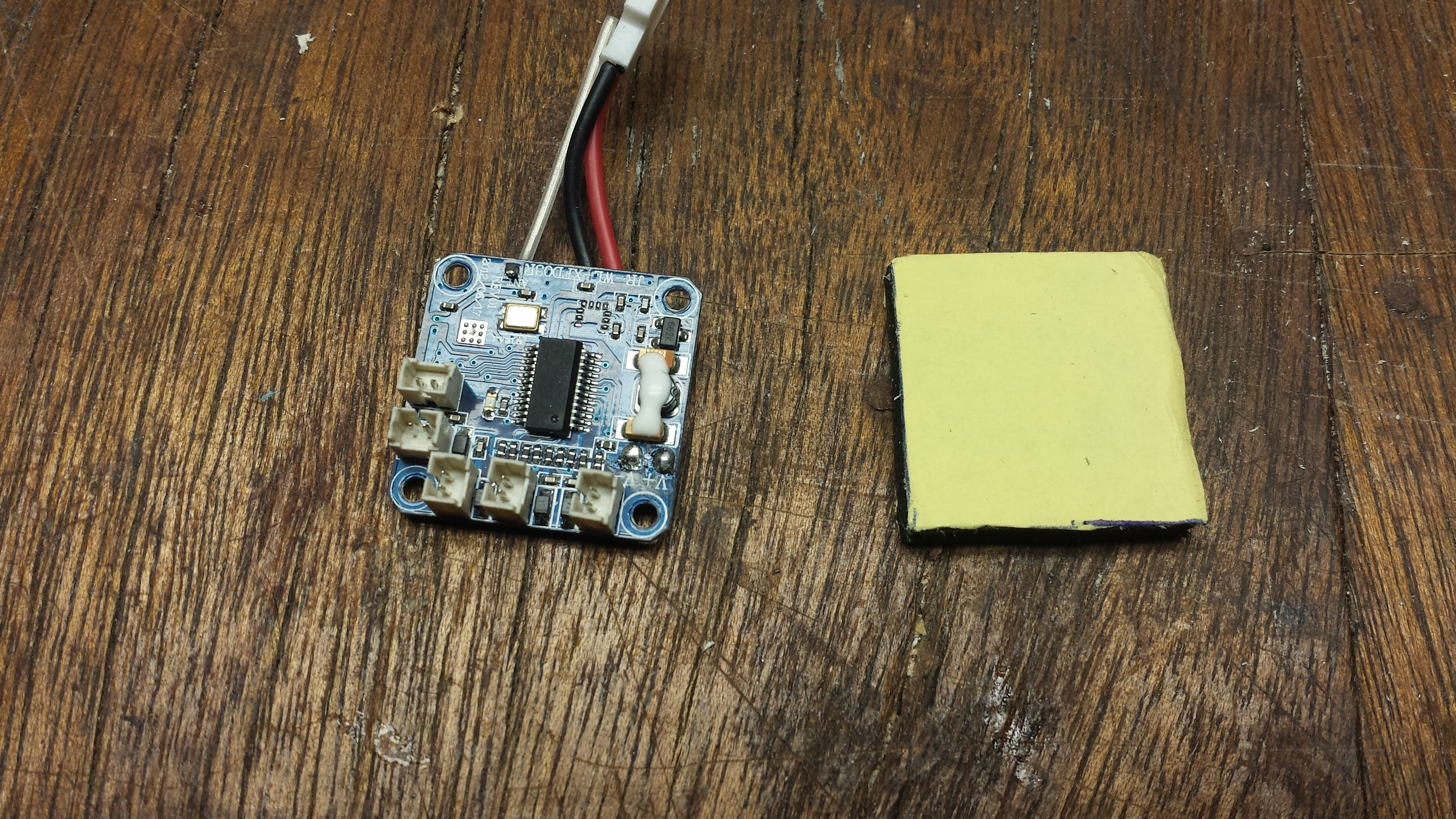 Flight Controller and Anti-Vibration Foam