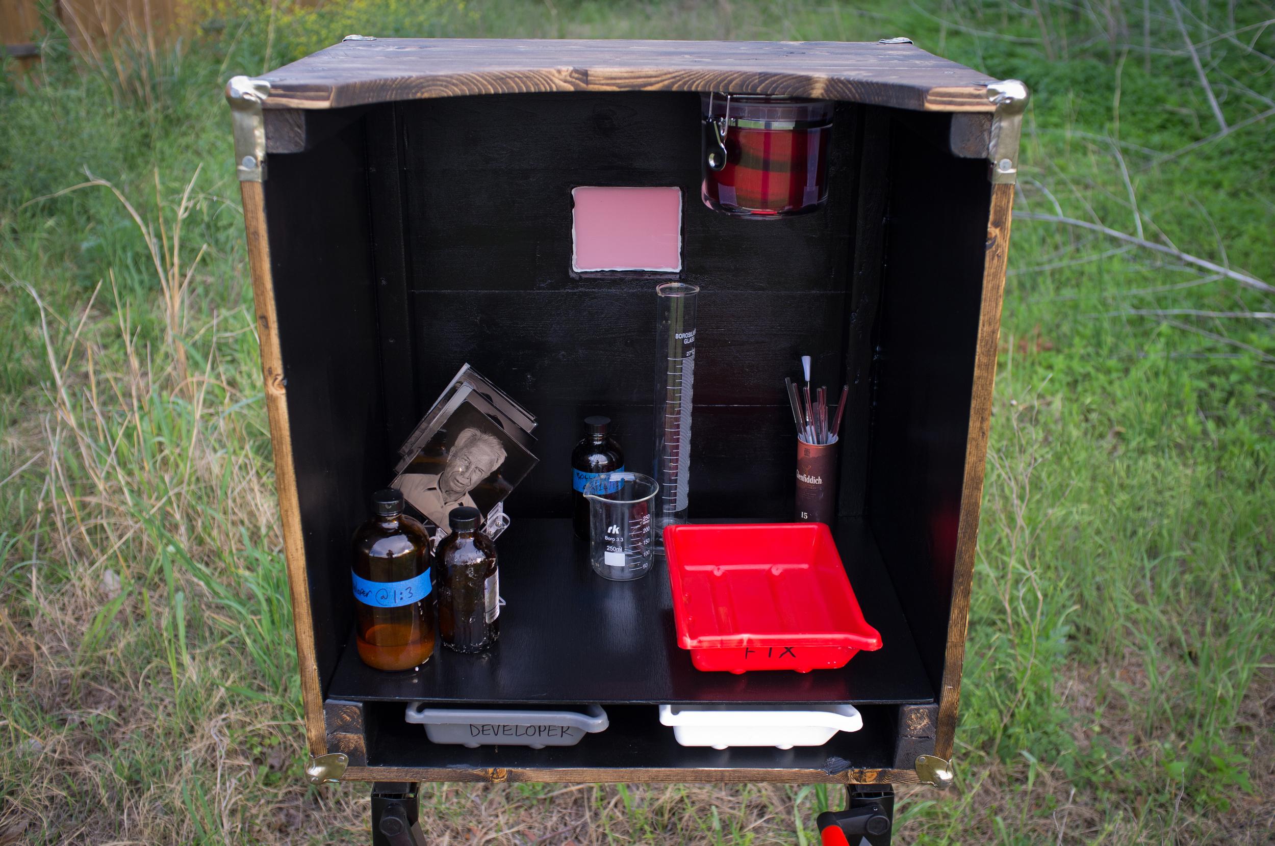 Inside the lumiere darkbox